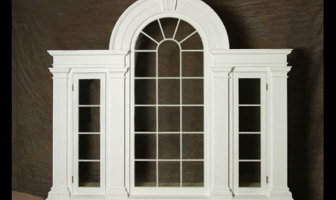 Neoclassical Palladian Window