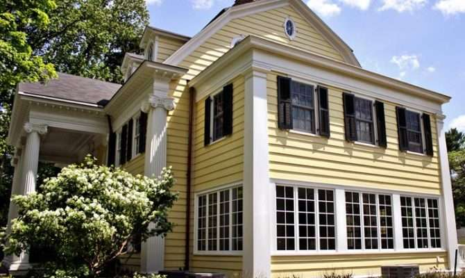 Neoclassical Residence Double Hung Casement Windows Marvin