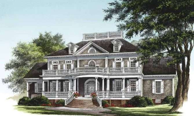 Neoclassical Style House Plans