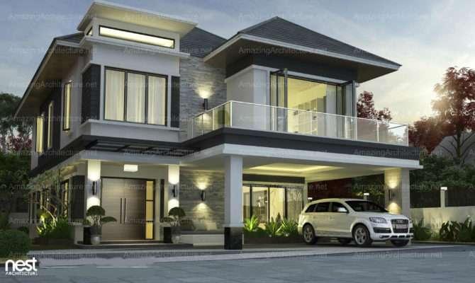 Nest Architecture Project Modern Villa Design Sunway