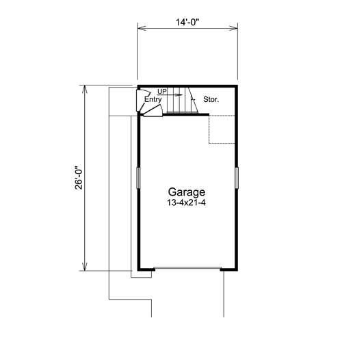 Nestor Woods Car Garage Plans