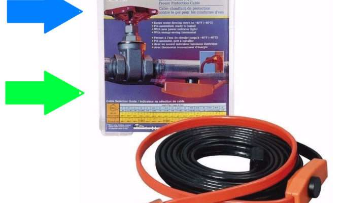 New Ahb Electric Easy Heat Water Pipe Freeze Proof Heated