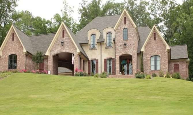 New Brick Home Designs Orleans Style Homes