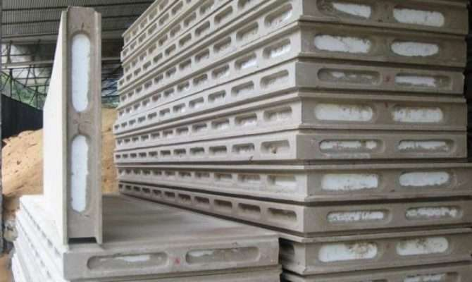 New Building Material Hollow Design Wall Board Eps