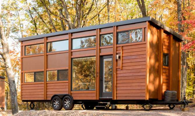 New Canoe Bay Escape Village Offers Tiny Houses Rent