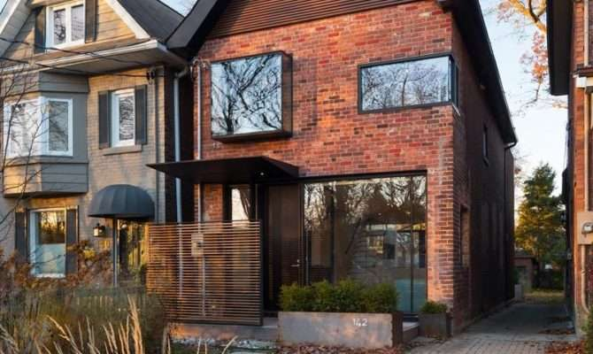 New Contemporary Redesign Brick House