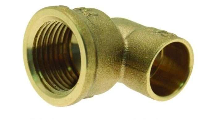New Copper Plumbing Pipe Female Solder Ring Bsp