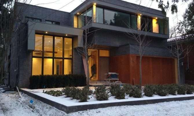 New Custom Built Modern Architecture Home Toronto