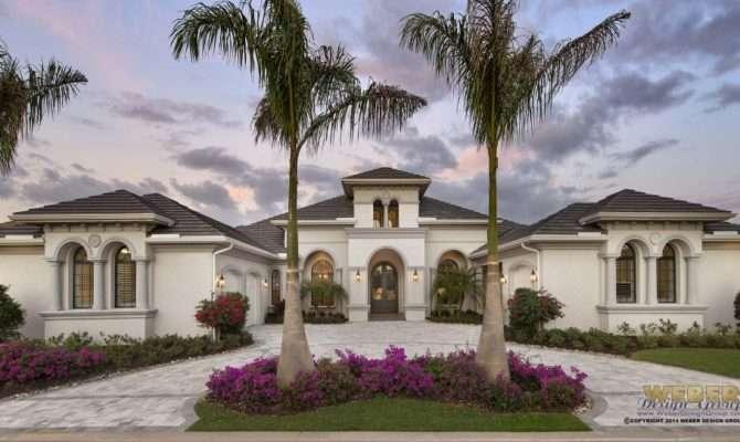 New Custom Home Plan Palm Beach Architect Weber