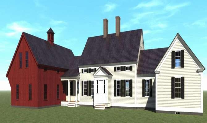 New England House Plans Unique Farmhouse