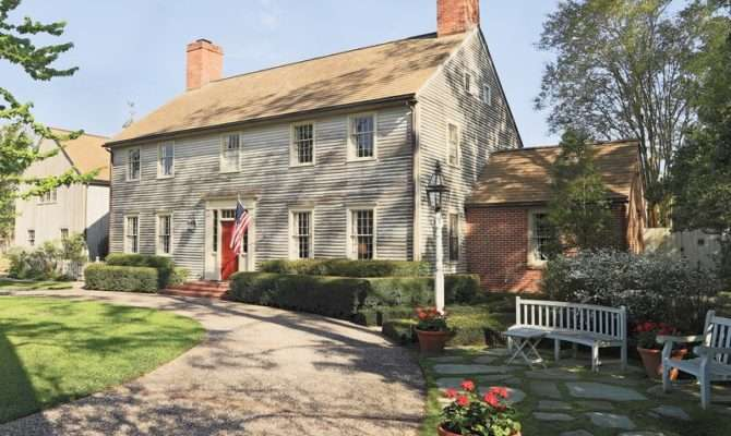 New England Style Home Designed Famous