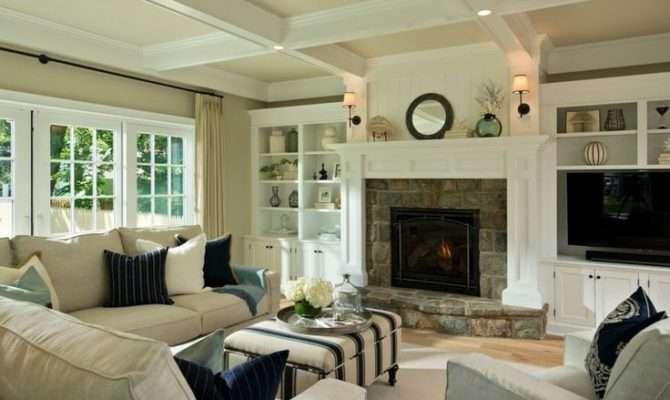 New England Style Living Room Dream Home Pinterest