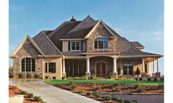 New French Country Home Plans Design Style