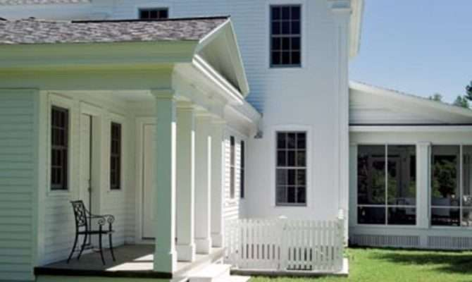 New Greek Revival Farmhouse Old House Restoration