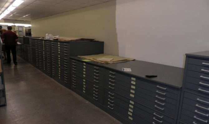 New Horizontal Storage Cases University Archives