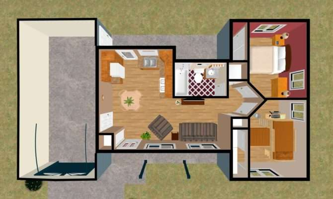 New Improved Bedroom Small House Plan Cozy Home Plans