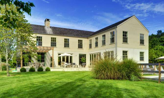 New Kdhamptons Featured Home Modern Manor House