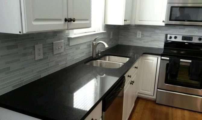 New Kitchen Countertops Shaped Floor Plans White