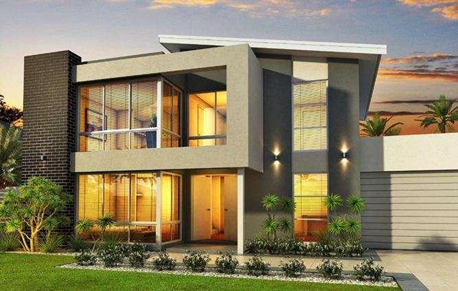New Minimalist Floor House Designs Home Ideas