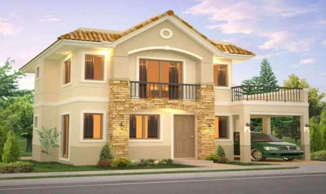 New Model House Philippines Design