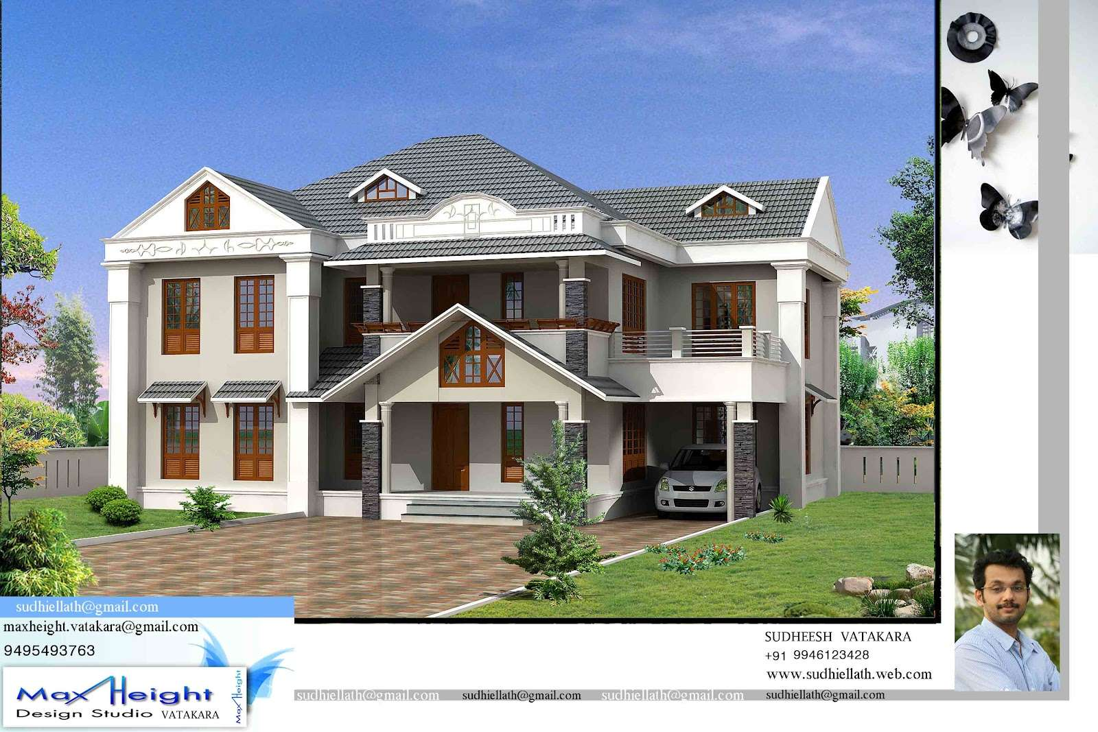 New model houses kerala photos house