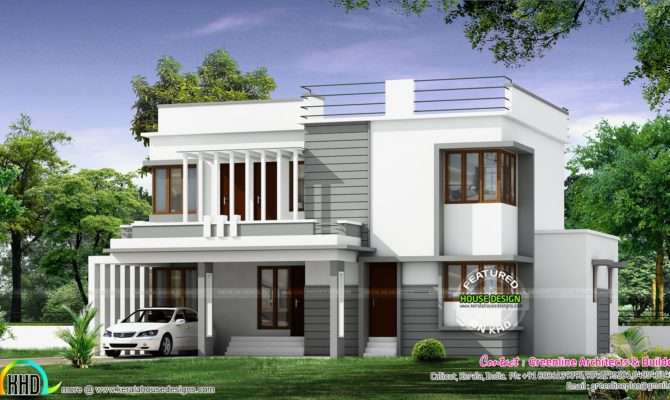 New Modern House Architecture Kerala Home Design