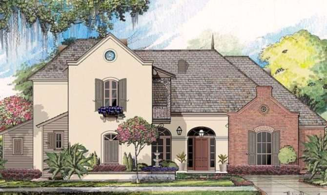 New Orleans Style House Plan Louisiana Plans Our