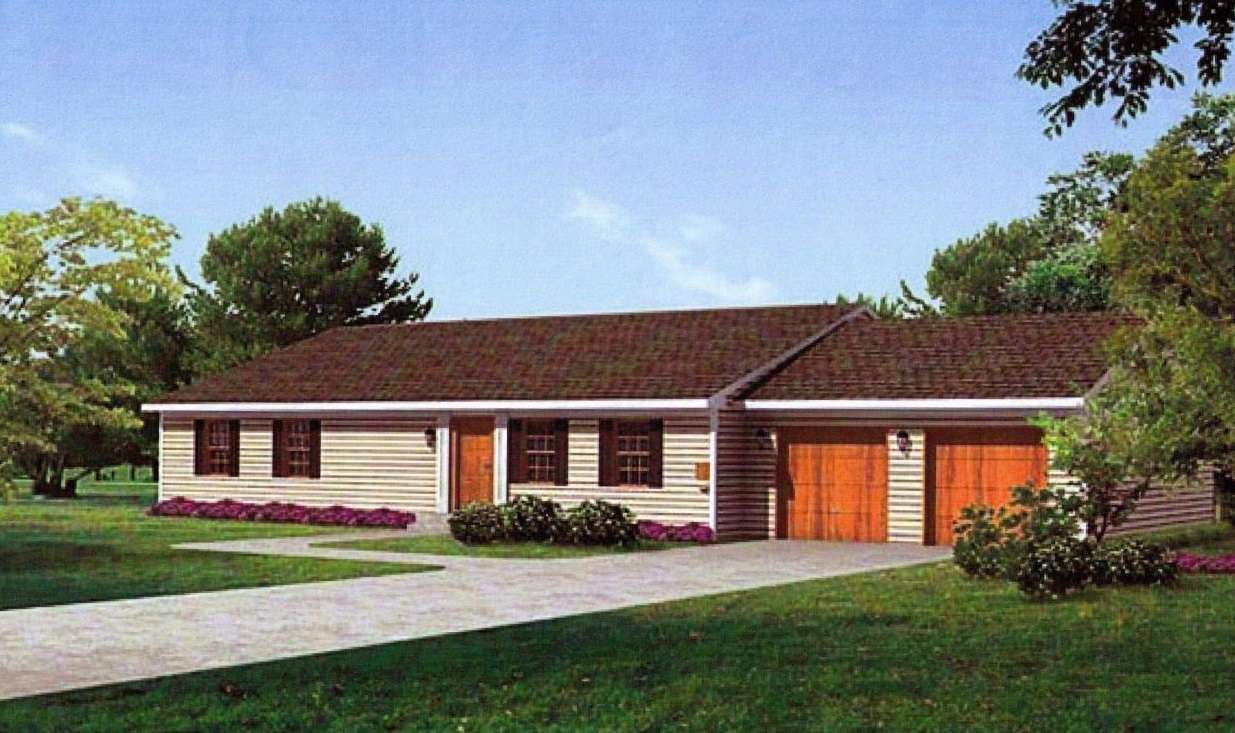 New Ranch Style Homes Building Plans