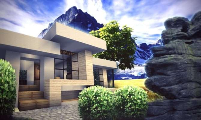 New Small House Designs Modern Minecraft Cool