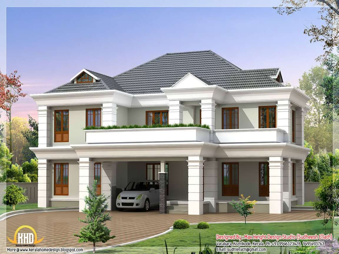 New Style House Design Bungalow Plans