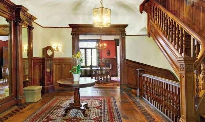 New York West Street Brownstone Victorian Interior Woodwork