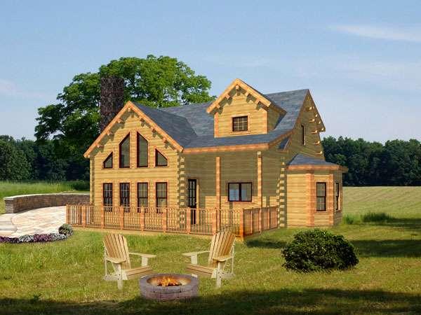 Nice Adirondack House Plans Log Home Under