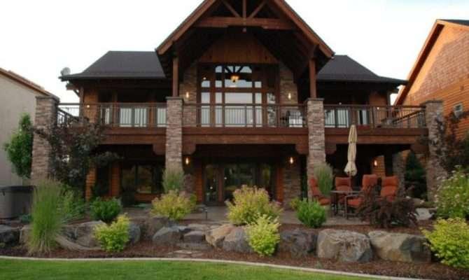 Nice House Plans Walkout Basements New Home Design