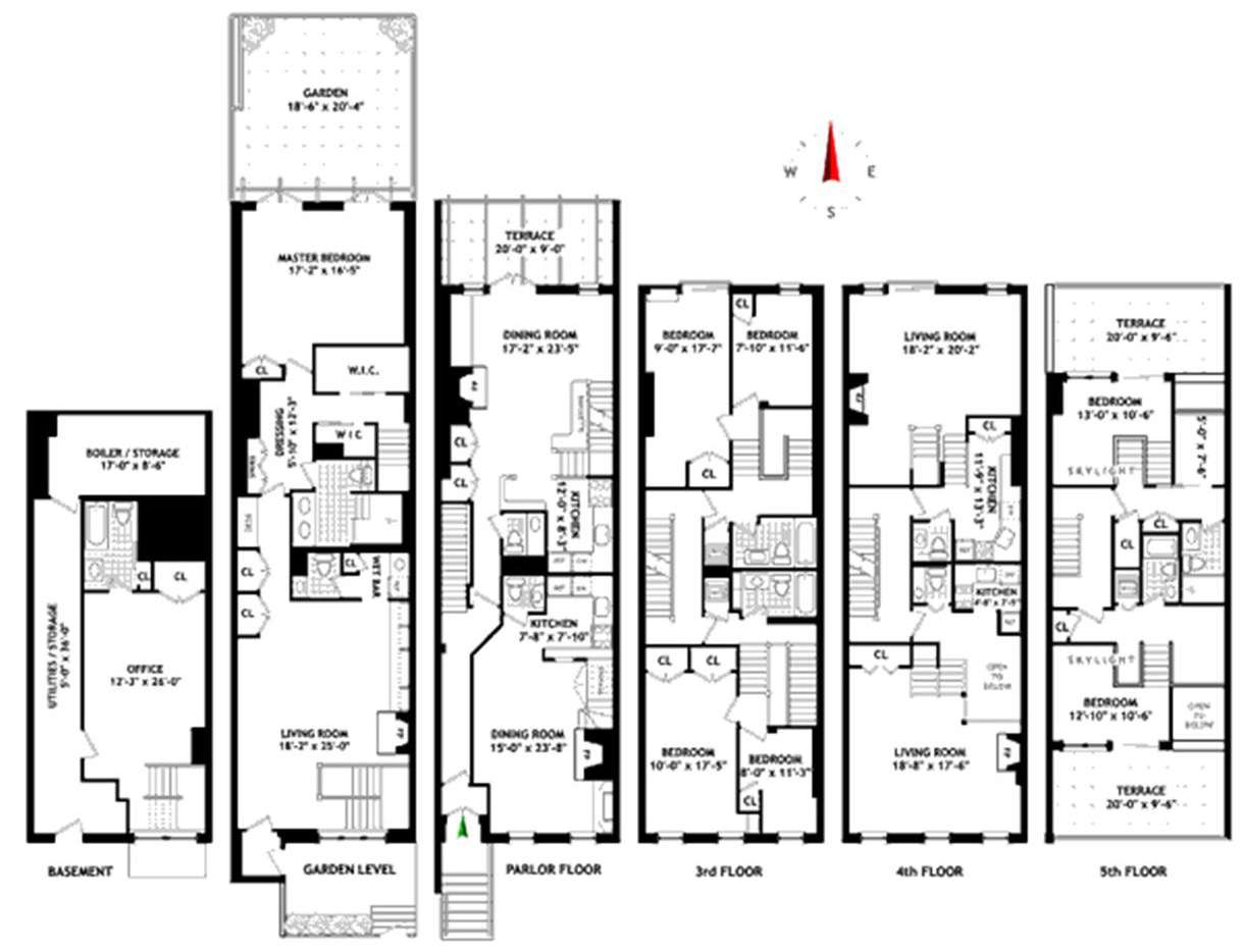 Nice Multi Home Floor Plans Interior Design Ideas