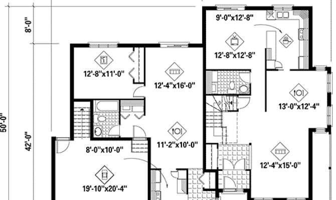 Nice Multigenerational House Plans Multi Generational