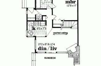 Nice Open Floor Plan Loft Tiny House Pinterest