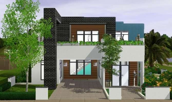 Nice Sims Small Modern House Best Design