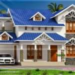 Nice Sloped Roof Kerala Home Design Floor