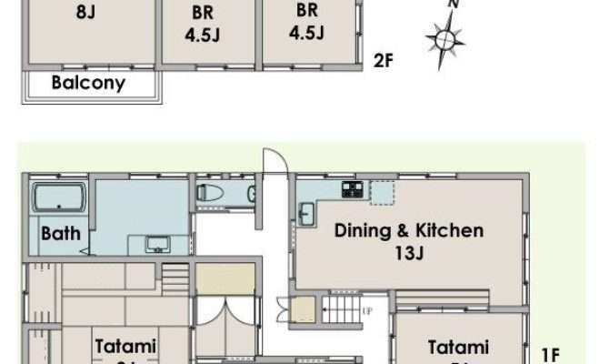 Nice Traditional Japanese House Floor Plan Fujisawa