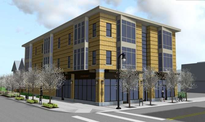 Nicely Done Mixed Infill Proposed Grant Street