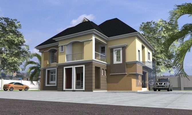 Nigerian Residential Architecture Luxury Bedroom Storey Building