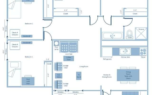 Nittany Apartments Bedroom Garden Floor Plan Penn
