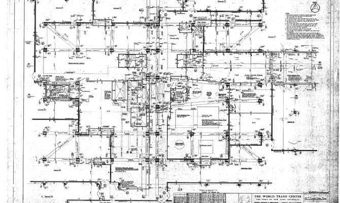 North Tower Blueprints