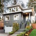 Northwest House Plan Front Sloping Lot