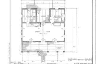 Not Pseudo Southern Tract House Find Plan