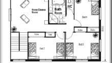 Odd Shaped Land Design Floor Plans Small House Sale
