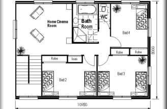 Odd Shaped Land Design Floor Plans Small House Sale