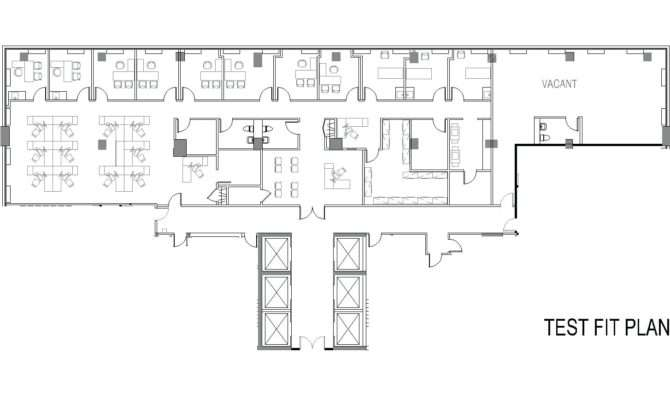 Office Design Small Floor Plans Commercial Building