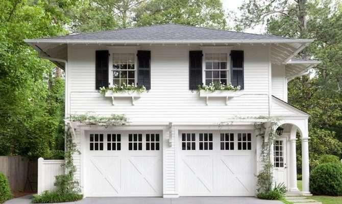 Offset Garage Design Ideas