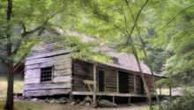 Ogle Homestead Smoky Mountain Rustic Cabin Thomas Schoeller